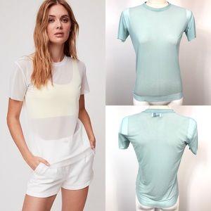 ❤️Wilfred free Jamilla T-Shirt sheer